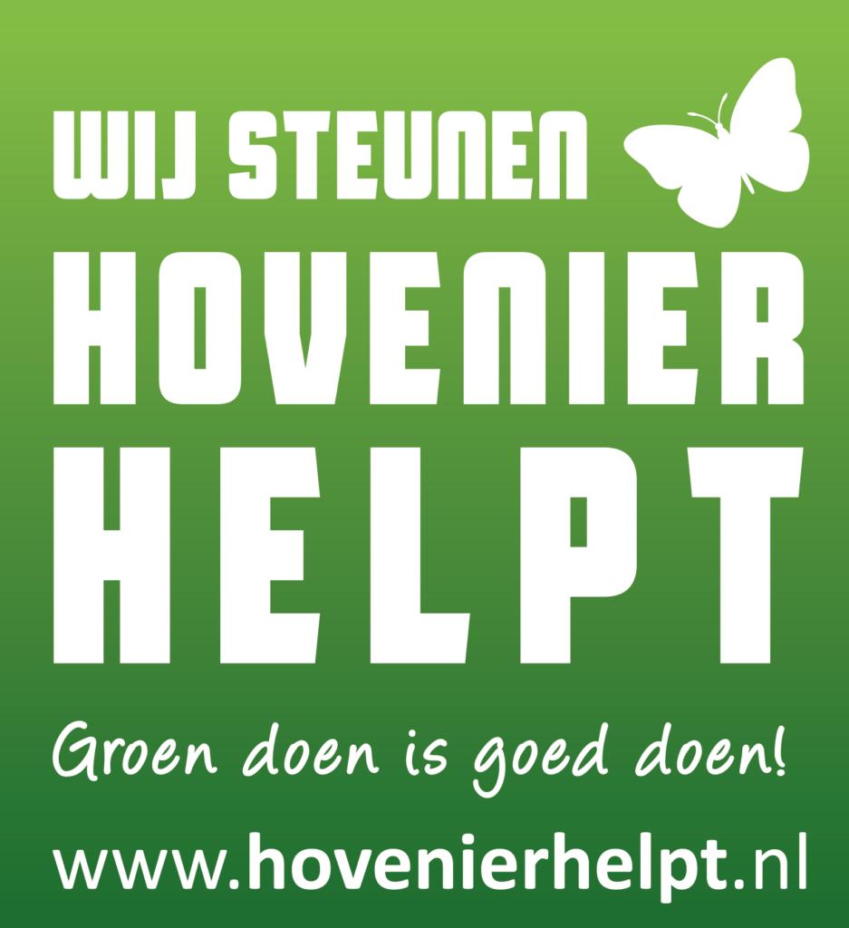 Den Bogert Hoveniers steunt Hovenier Helpt